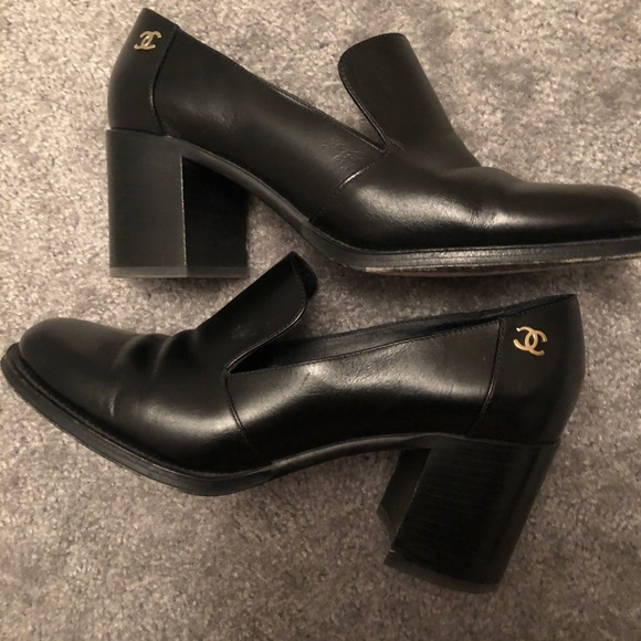 1187c897d09 CHANEL Shoes - Chanel Calfskin Loafers 9.5 (US) 39.5 (EU)